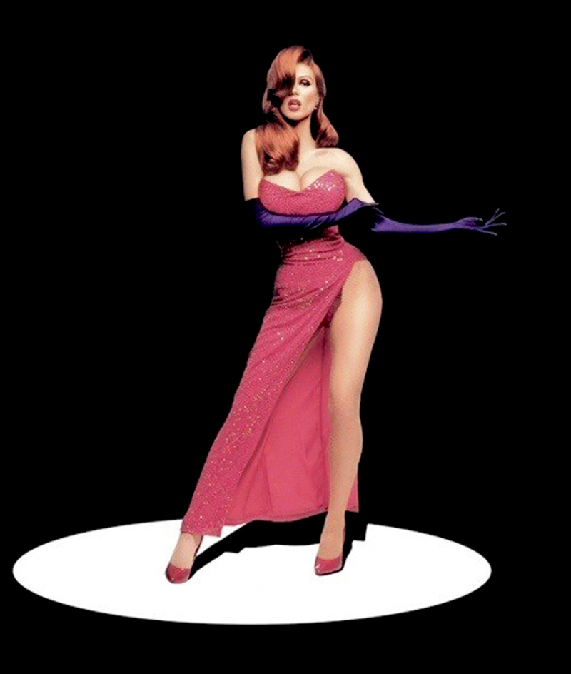 real jessica rabbit heidi klum
