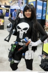 Lady Punisher at SDCC 2013 via Strange Beaver