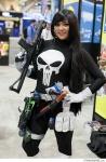 Lady Punisher at SDCC 2013 via Strange Beaver