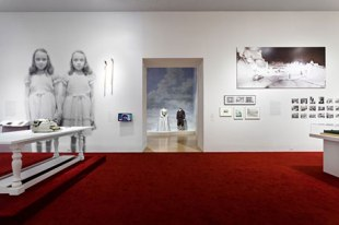 Shining Room at LACMA Kubrick Exhibit Photo by Yosi Pozeilov LACMA