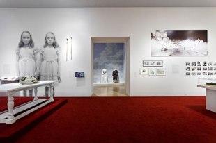 Shining Room at LACMA Kubrick Exhibit Photo by Yosi Pozeilov LACMA