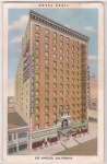 Vintage Postcard Hotel Cecil Downtown Los Angeles