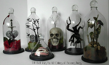 DIY Soda Bell Jars by MJ Girling of Seeing Things