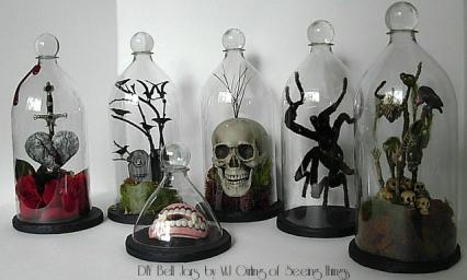 DIY Soda Bell Jars by MJ Girling of Seeing Things