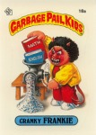Garbage Pail Kids Original Series 1 Cranky Franky Issued June 1985 via Garbage Pail Kids World