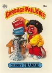 Garbage Pail Kids Original Series 1 Cranky Franky Issued June 1985 via Garbage Pail Kids World