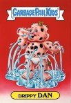 Garbage Pail Kids Original Series 1 Drippy Dan Issued June 1985 via GEEPEEKAY