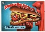 Garbage Pail Kids Fran Furter GPK