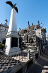 Mausoleum of Domingo Faustino Sarmiento, La Recoleta Cemetery, Buenos Aires, photographed by Barcex, 4 January 2009