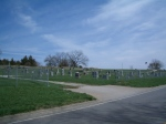 Photograph of Stull Cemetery in Stull, Kansas by Ryan Metcalf, March 2007. Stull Cemetery is subject to dubious occult rumors and said to contain one of the Seven Gates of Hell.