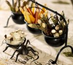 Pottery Barn Cauldron Condiment Set
