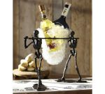 Pottery Barn Skeleton Wine Chiller