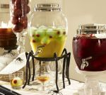 Pottery Barn Spider Drink Dipenser Stand