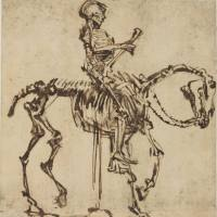 Silent Sundays: Skeleton Rider (1655)