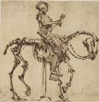 Rembrandt - The Skeleton RiderevahalloweenRembrandt - The Skeleton Rider