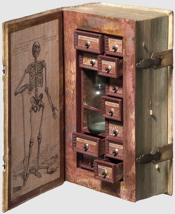 Vintage Poisoner's Cabinet