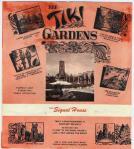 Vintage Tiki Gardens Poster