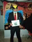 2012 Halloween Costume Contest Entrant Harvey Birdman