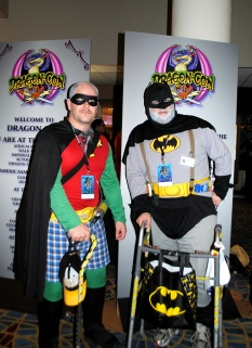 Batman and Robin at DragonCon 2013 by ChooFabulous
