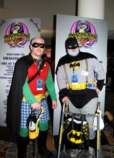 Batman and Robin at DragonCon 2013 by ChooFabulous
