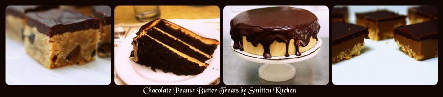 Chocolate Peanut Butter Treats by Smitten Kitchen