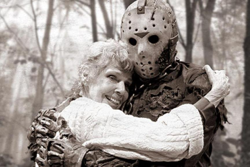 Pamela and Jason Voorhees - Happy Mothers' Day Friday the 13th
