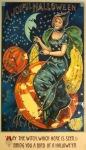 Circa 1900's Halloween postcard