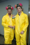 Cosplay Breaking Bad Walter White and Jesse Pinkman costumes Photographed by David Ngo (DTJAAAAM) via Uproxx