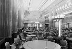 Dining area of the RMS Queen Mary 1936