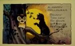 Early 1900's Vintage Halloween Cards (1)
