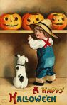 Early 1900's Vintage Halloween Cards (12)