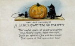 Early 1900's Vintage Halloween Cards (15)