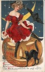 Early 1900's Vintage Halloween Cards (17)