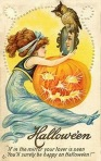 Early 1900's Vintage Halloween Cards (18)