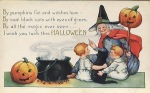 Early 1900's Vintage Halloween Cards (19)