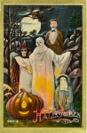 Early 1900's Vintage Halloween Cards (2)