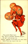 Early 1900's Vintage Halloween Cards (23)