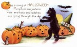 Early 1900's Vintage Halloween Cards (24)