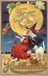 Early 1900's Vintage Halloween Cards (26)