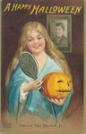 Early 1900's Vintage Halloween Cards (28)