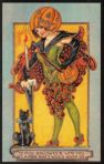 Early 1900's Vintage Halloween Cards (5)