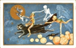 Early 1900's Vintage Halloween Cards