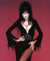 Elvira (Cassandra Peterson) as Elvira 1980's