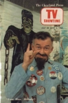 Ernie Anderson (Ghoulardi) on the cover of Cleveland Press TV Showtime