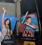 Evil Dead Halloween Costumes from Amsterdam Spook's Odeon Halloween Party