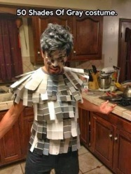 ifty Shades of Grey Gray Pun Funny Halloween Costume