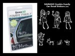 GAMAGO Zombie Family Car Decal Stickers