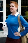 Gender Swap TinTin Photographed by Sebastian Jespersen at SDCC 2012