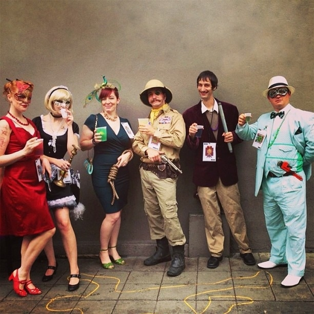 Group Costume The Cast of Clue by thetrashydiva on Instagram via ...