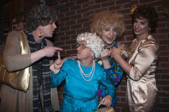 2ceea1182 'Group Halloween Costumes Drag Golden Girls Photographed by Seattle  Weekly'. Published October 23, 2013 at 565 × 375 ...